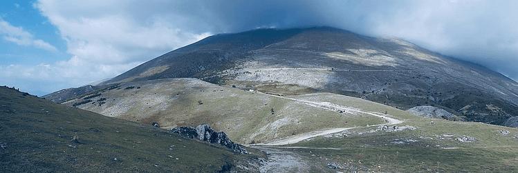 Berg Olymp in Griechenland