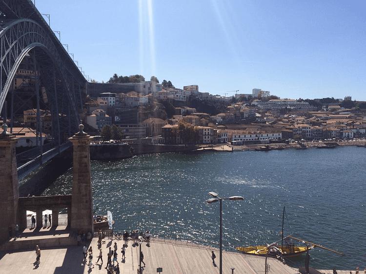 bridge Dom Luís Porto